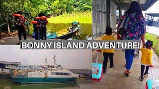 WE TRAVELED BY BOAT TO BONNY ISLAND   VLOG