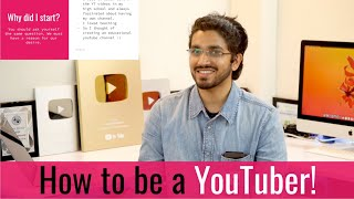 How to be a YouTuber | How to Grow on YouTube | Master Class by Aman Dhattarwal | Class-1 | Hindi
