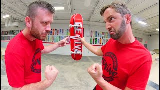 KID SIZE SKATEBOARD Game Of S.K.A.T.E.! / Andy Schrock Vs Justin Lonaker