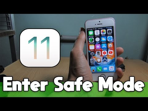 How to Enter Safe Mode in all Devices on iOS 11 - 11.1.2