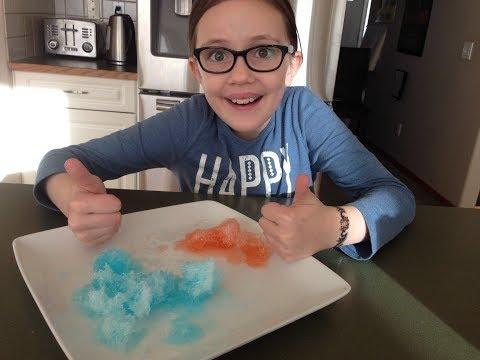 Making Epsom Salt Crystals!