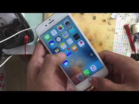 fix iphone 6 wifi problem remove and replace hardware
