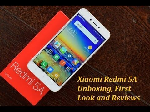 Xiaomi Redmi 5A Unboxing, First Look and Reviews, Redmi New Phone