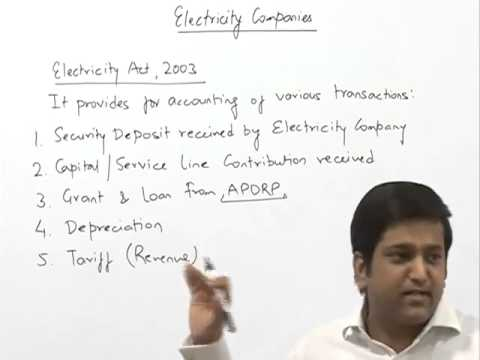Electricity Company Accounts by CA Raj K Agrawal