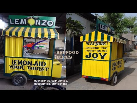 Food Carts Manufacturer in India// SAI STRUCTURES INDIA # FOOD CARTS BUSINESS/ STREET FOOD CARTS#
