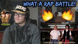 Lewis and Clark vs Bill and Ted. Epic Rap Battles of History REACTION!
