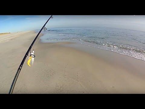 Fall Run Surfcasting on the South Shore - Long Island, NY