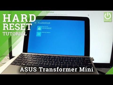 How to Hard Reset ASUS Transformer Mini - Remove Password / Restore