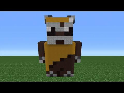 Minecraft Tutorial: How To Make An Ewok Statue