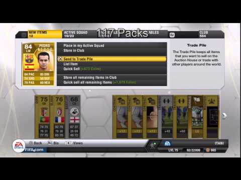 FIFA 13 Pack Opening Ultimate Team Road To Ronaldo Episode 12