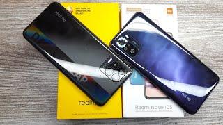 Redmi Note 10S Special Edition Cosmic Purple vs Realme 8 - Which Should You Buy ?