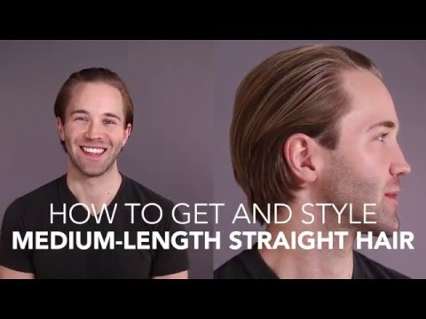 How to Cut and Style: Medium Straight Hair