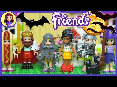 Lego Friends Halloween Dress Up Silly Play - Kids Toys