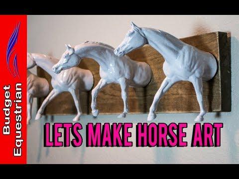 Making Horse Art With Breyer Models