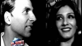 When Akshay-Raveena bumped into each other!