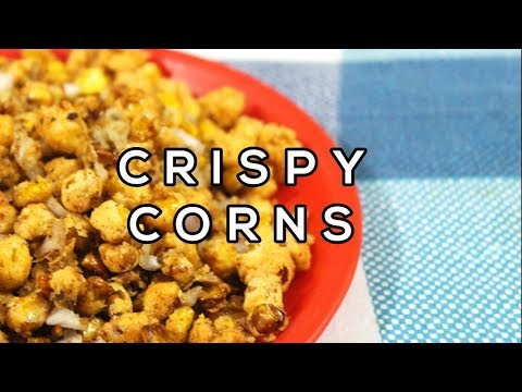 Barbeque Nation Style Crispy Corn Recipe in Hindi || How to make Crispy Corn at Home