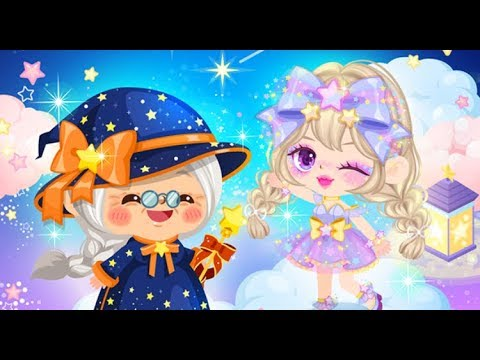 LINE Play - Gramma Wizzy Shooting Star Girl (Stardust Eyes & Lips)