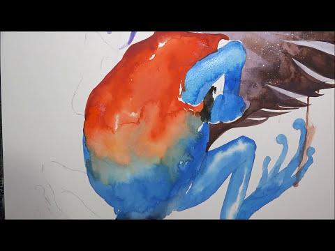[Watercolor] Dart Frogs