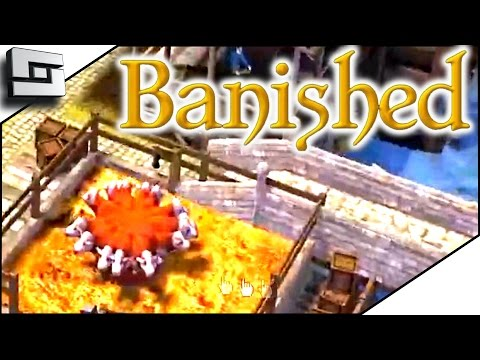 BEEF COW-CEPTION! - Banished Gameplay E11 | Sl1pg8r