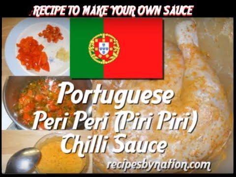 Nandos style peri peri (piri piri) chilli sauce - Recipe to make your own Hot Nando's style sauce