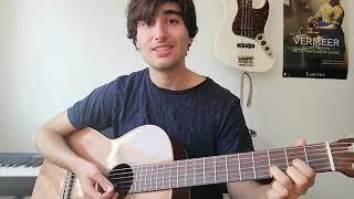 la même / il est libre Max - 3 accords de guitare débutant