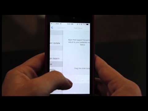 Chieftain Tech Tips: Adjust Font Size in All iOS7 Apps