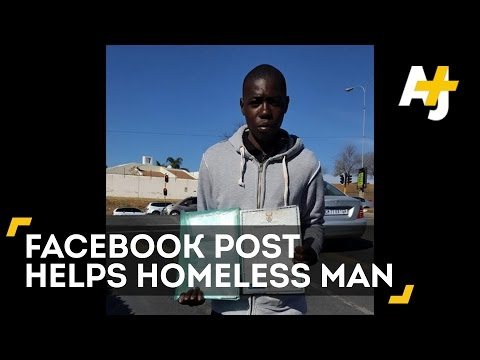 Hundreds Help Homeless Man In South Africa Find A Job