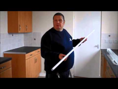 How to Change a Fluorescent Tube
