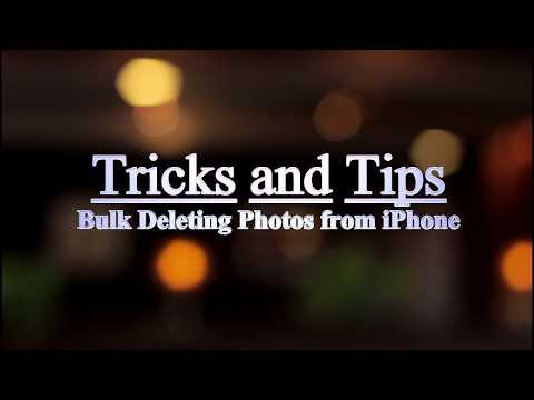 Tricks and Tips for Bulk Deleting Photos from iPhone 01