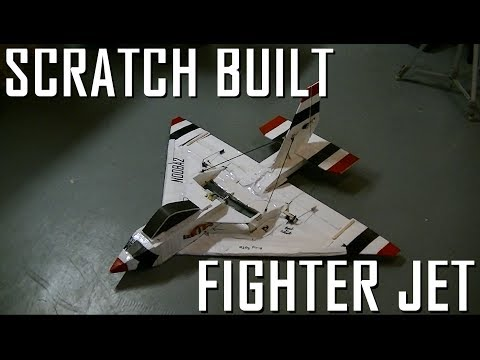 RC FIGHTER JET Scratch Build - Overview