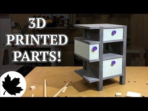 Secret Compartment Table II // 3D printed Parts
