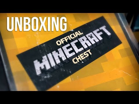 Mine Chest the Minecraft Monthly Box March 2018 Unboxing