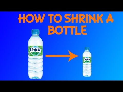 How To Shrink Any Water Bottle !!!