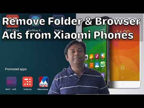 Remove Folder Ads & Browser Ads from Xiaomi Phones