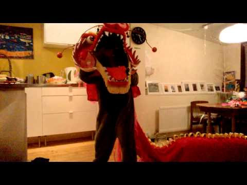 Making a Chinese dragon pt 2