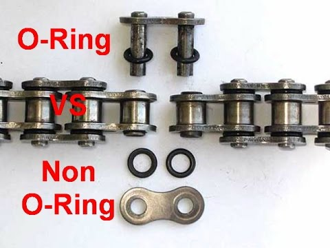 Non O-ring VS O-ring motorcycle Chain - In My Opinion