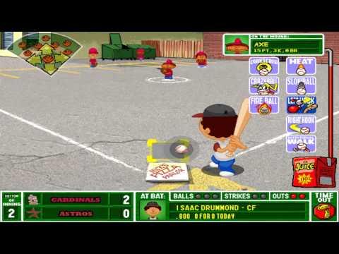 Let's Play Backyard Baseball 2003 Game 2(Part 1/3)