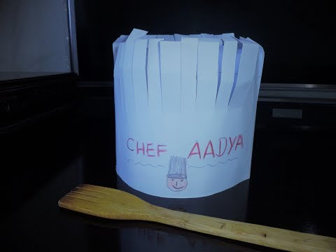 How to make Paper Chef's  Hat