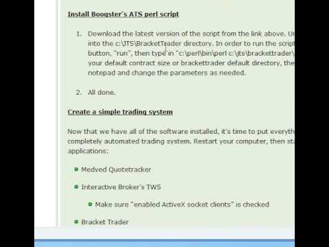 HPT's ATS Tutorial Part 2 - Setting up software