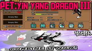 Ninja Saga Easter Event 2014 Super Dragon Pet 3 Golden Skeletal