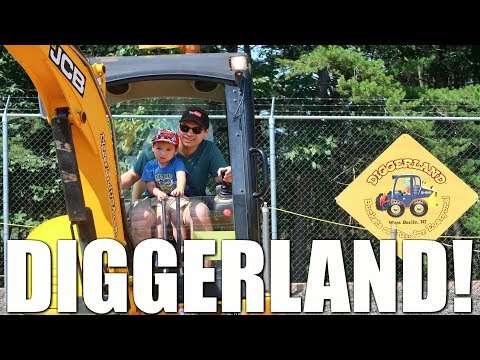 SURPRISE TRIP TO DIGGERLAND!