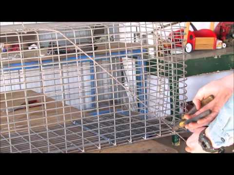 How to Make a Possum Trap or cat trap