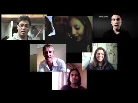 Filmmakers from around the world make a feature film - CollabFeature VideoBlog #1: Introductions