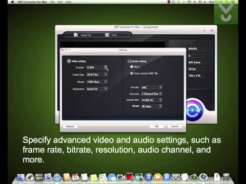 SWF Converter - Convert SWF files on Mac - Download Video Previews