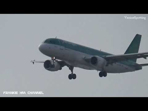 Plane Spotting Venice 2018   Landings and takeoffs from Venice Airport 2018