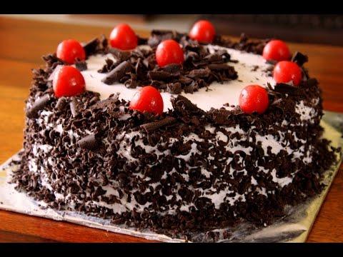 Black Forest Cake (Without Oven)  || ബ്ലാക്ക് ഫോറെസ്റ് കേക്ക് ( വിതൗട്ട് ഓവൻ )