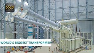 Download World's Biggest Electrical Transformer [With voltage upto 1100kV] Video