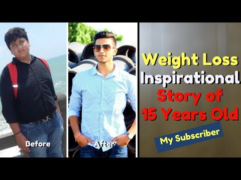 Weight Loss Inspirational Story of 15 Years Old | Be Ghent's Subscriber |