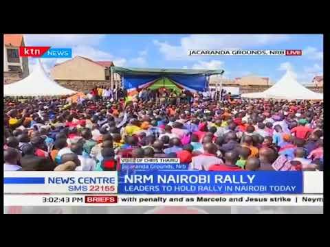 What NASA aims at as it holds rally at Jacaranda grounds, Nairobi led by Musalia Mudavadi