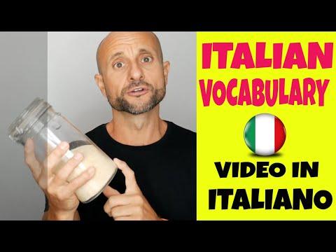 Learn Italian Vocabulary: 10 Household Items [Video in Italiano]  [LIVE]